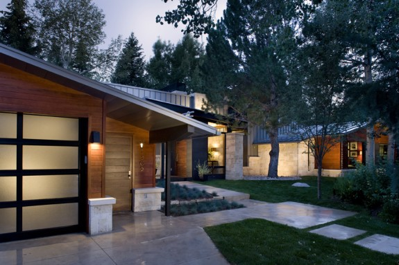 Stylish Mid Century Aspen Ranch House Trying To Balance The Madness
