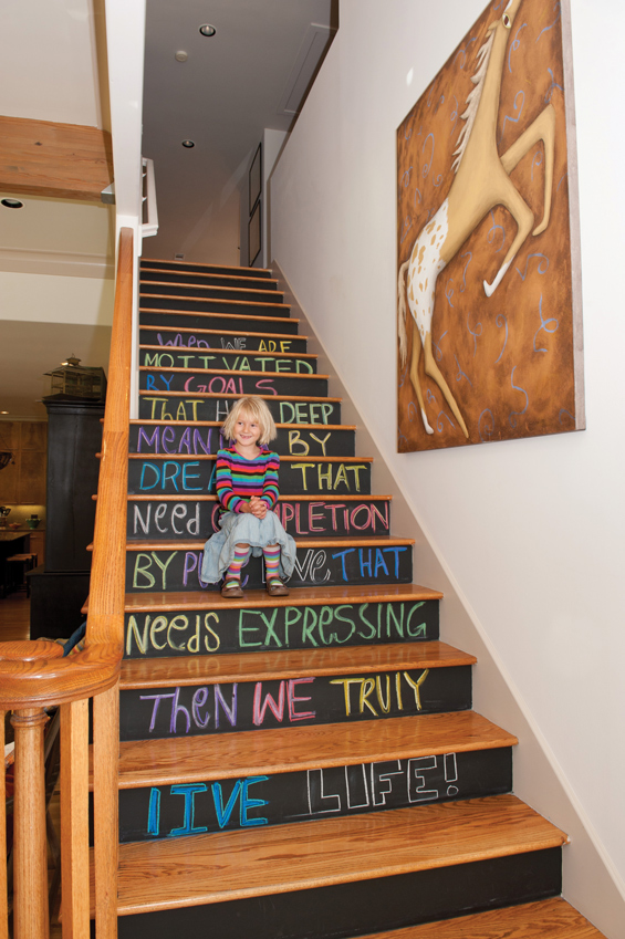 Assez 10 astuces pour customiser ses escaliers | Diaporama Photo QZ34