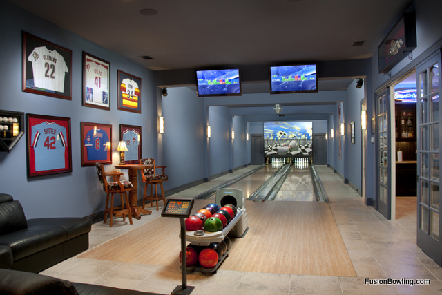 Bowling Alley For Your Home Trying To Balance The Madness