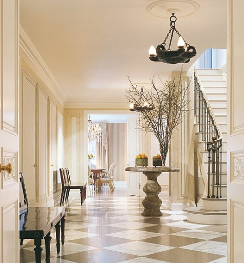 Beautiful Front Hall And Staircase: When First Impressions Do Count