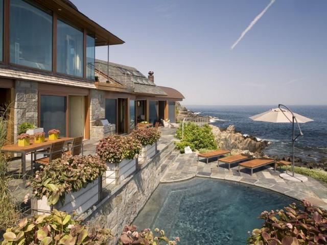Dramatic Contemporary Aw Inspiring Oceanfront New