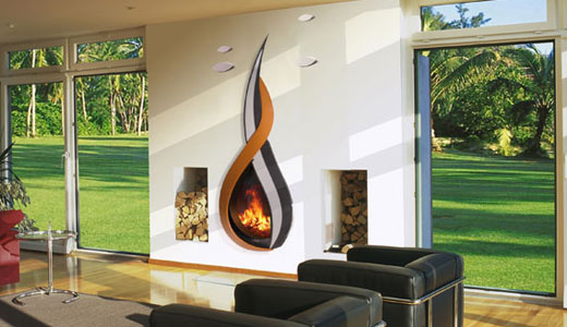 Warm Yourself Up With These Unique Fireplaces Trying To Balance