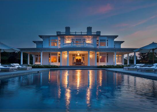 HAMPTONS WATERFRONT MANSION SIMPLY THE BEST Trying To Balance The Madness