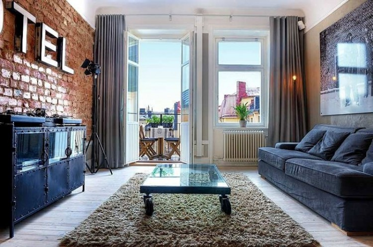 Stylish Rooms Enhanced By Stunning Exposed Brick Walls