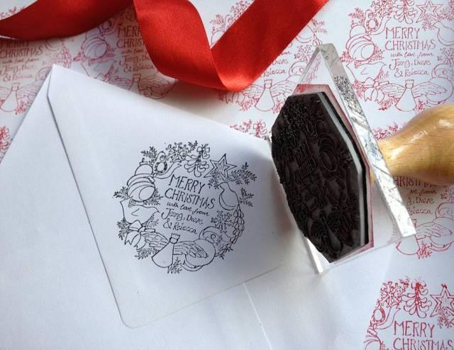 NOTHSoriginal_personalised-wreath-christmas-stamp