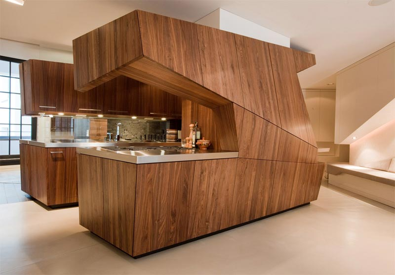 Imagine cooking christmas dinner in one of these unusual for Unusual interior design