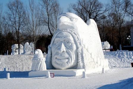 bookadvisorIndian-Snow-Sculpture