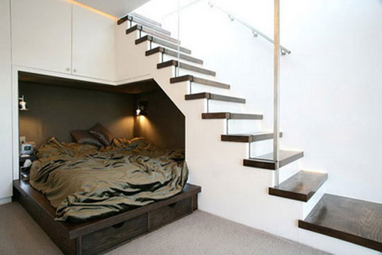 Gentil Under Stairs Storage Plans