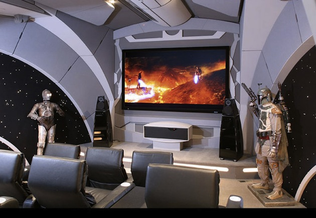 developing a plan a movie gold mine this unusual home theater