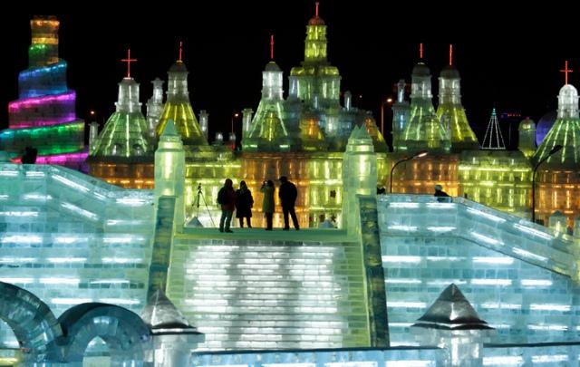 APTOPIX China Harbin Ice Snow Festival