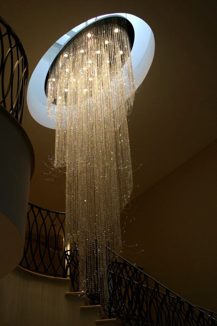 Dramatic Contemporary Chandeliers Born To Make A Statement