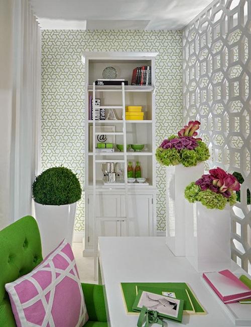 mackensieana cordeiro pink and green design darling