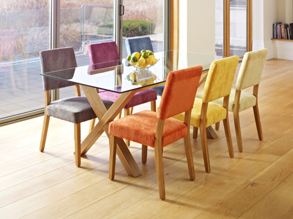 fun dining room chairs | Fun Dining with Rainbow Chairs | Trying to Balance the Madness