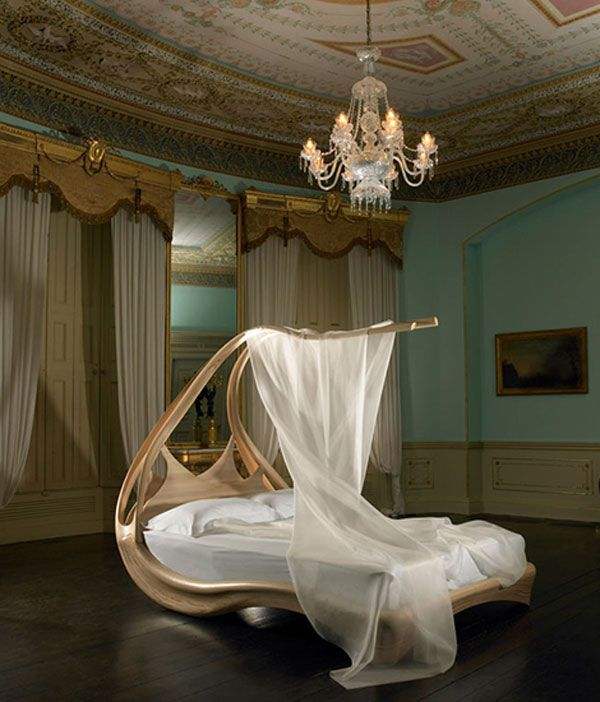 going to sleep has never been so strange – unusual beds   trying